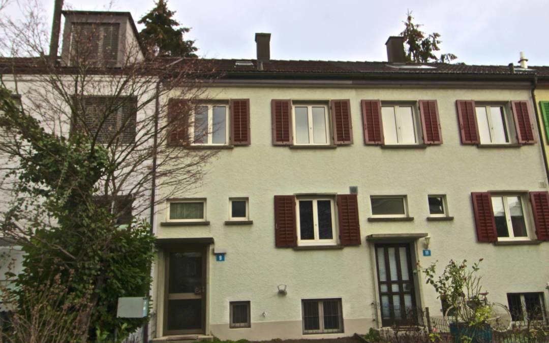 5.5-Zimmer-Einfamilienhaus in Zürich-Altstetten ZH