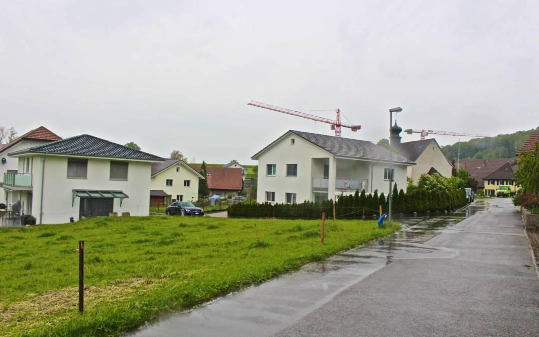 Baulandparzelle in Büttikon AG